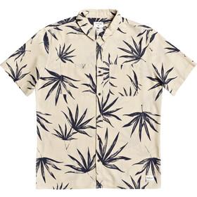 Quiksilver Deli Palm Skjorte Herrer, beige/grå